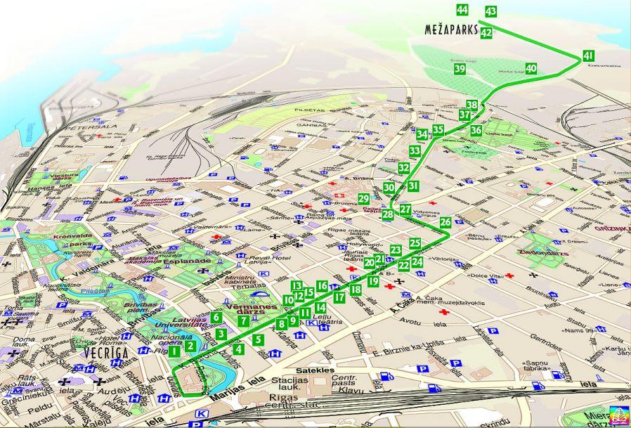Riga art nouveau centre maps and routes gumiabroncs Images