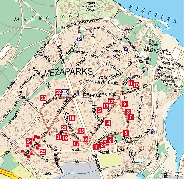 Riga art nouveau centreart nouveau buildings in riga interactive map art nouveau in meaparks gumiabroncs Images